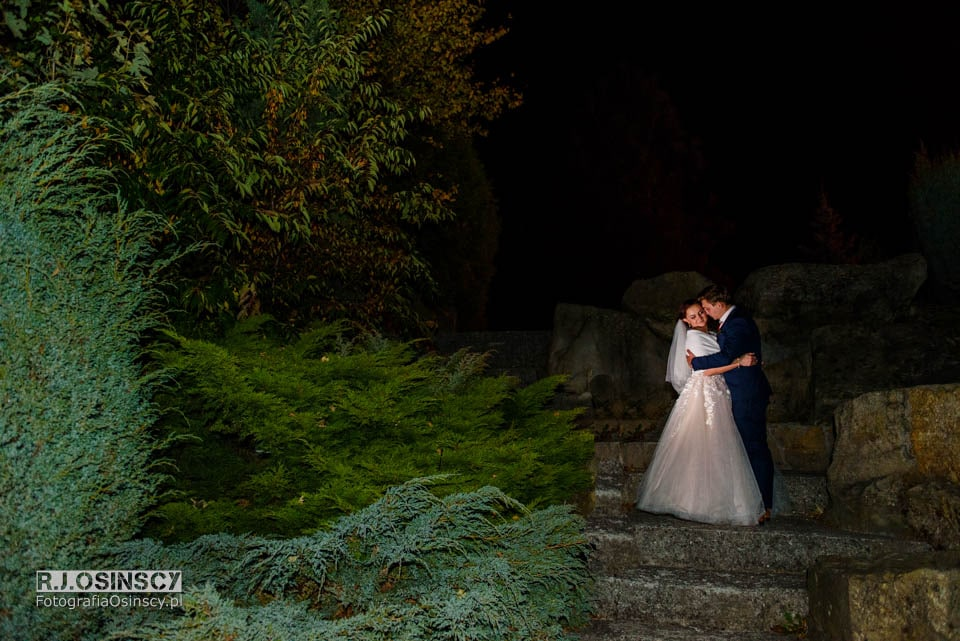 wesele dom markowy sesja nocna