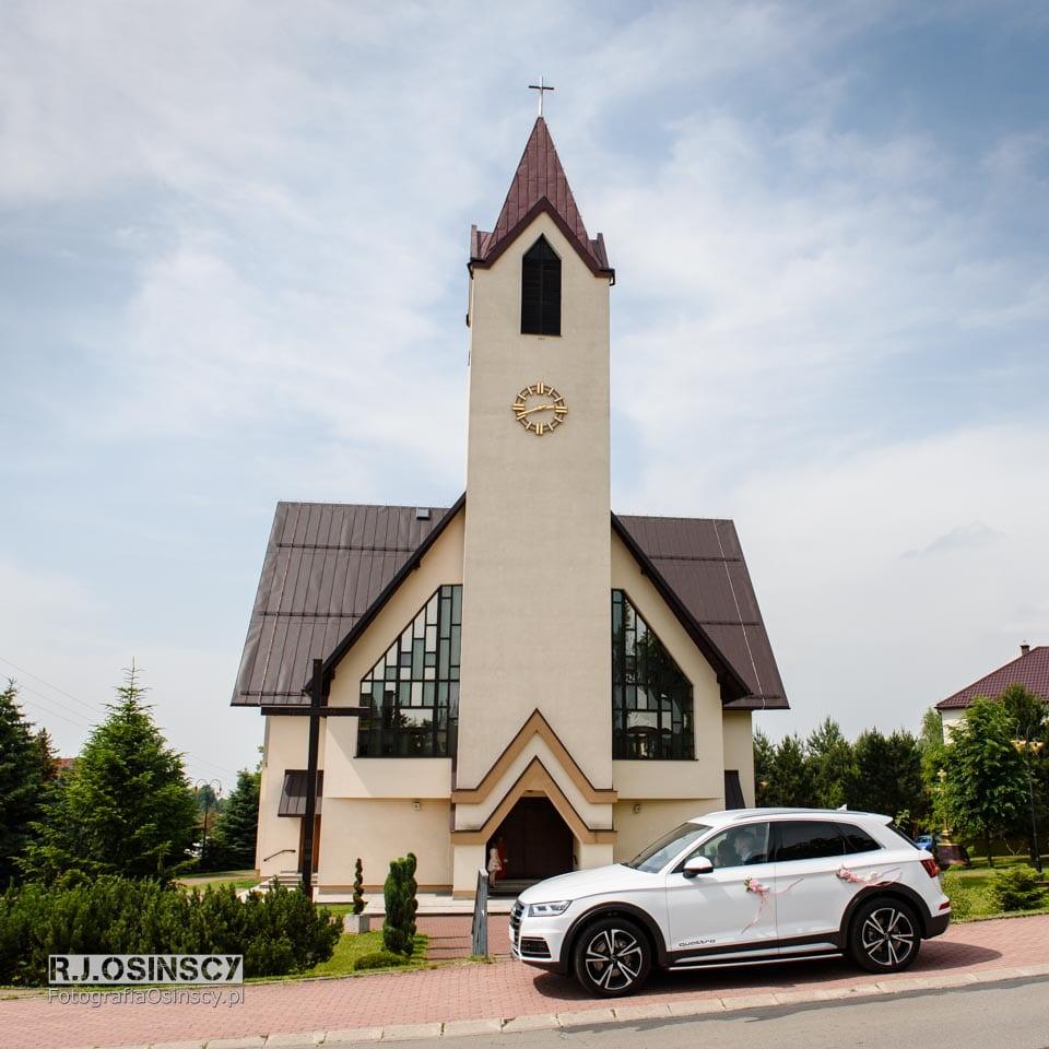 ślub kościół grojec