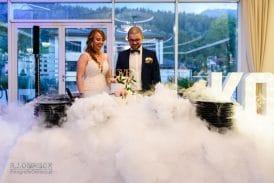 Kasia i Dawid - wesele Biała Róża, Szczyrk