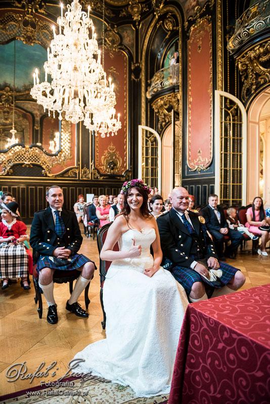 ślub zamek pszczyna